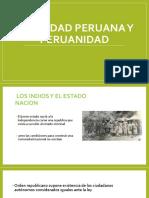 Indentidad Peruana y Peruanidad