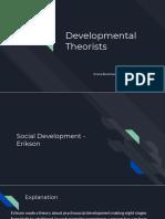 copy of developmental theorists- ariana