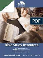 Bible Study Resourses