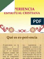 e La Experiencia Espiritual Cristiana