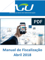 Manual de Fiscalizacao de Contratos - Agu - Abril 2018