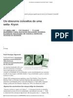 Os Obscuros Conceitos de Uma Seita- Kryon – Catarse