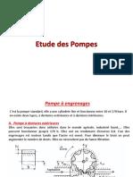 3. Etude Des Pompes