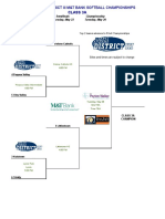 2019 PIAA District-III Class 3A softball brackets