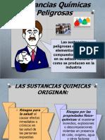 INDUCCIÓN SUSTANCIAS QUÍMICAS