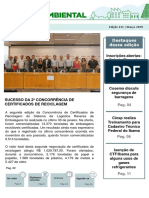 Informe Ambiental - Março