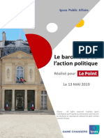 Rapport Barometre Politique Ipsos Le Point_Mai 2019