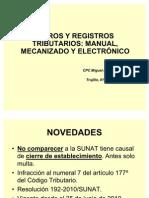 Libros tributarios 2010