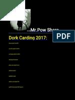 Mr.pow Share Dork 2019