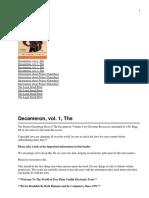 Giovanni Boccaccio - Decameron, The_. volume I-IndyPublish (2002).pdf