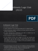 The Arithmetic Logic Unit_report