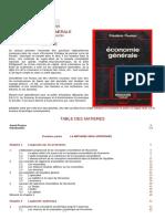 F Z Livre_Sommaire+Résumé_Economie Générale_3 Pages Dunod-Frédéric Poulon
