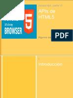 Javascript APIs HTML5