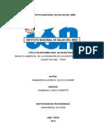Informe Final to 04 2012
