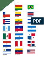 Países de américa banderas.docx