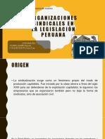 Organizaciones Sindicales en El Perru