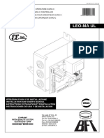 Leo Ma Ul - 120v - Control Board - Manual