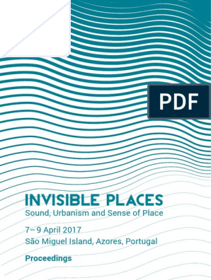 Invisible Places Proceedingspdf Nature