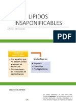 3. LIPIDOS INSAPONIFICABLES