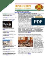 IMCOM World Newsletter, 5 Nov 2010