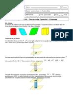 Matematica Do Ensino Basico III - Capitulo 06 - Prismas