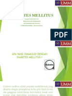 Ppt Diabetes Mellitus