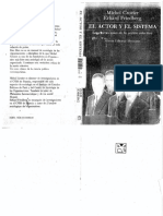 CROZIER Y FRIEDBERG - EL ACTOR Y EL SISTEMA.pdf
