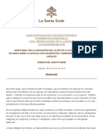 Papa Francesco 20190126 Omelia Cattedrale Panama