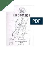 Lei Orgânica SCO