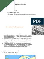Chernobyl Nucear Disaster