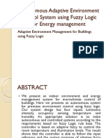 Autonomous Adaptive Environment Control using Fuzzy Logic