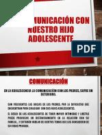 Comunicacion Adolescente