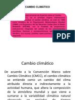 Cambio Climático 2019-1