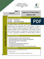 master professionnel Ingénierie de l'Informatique Médicale (IIM)