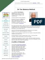 Dr Richard Tan Balance Method
