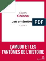 Chiche Sarah Les Entenebres