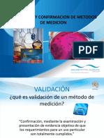 Diapositivas Validacion Metodos Microbiologicos