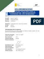 DLEP 115 P-Diclorobenceno Año 2018