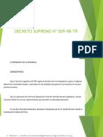 DECRETO SUPREMO Nº 009-98-TR.pptx