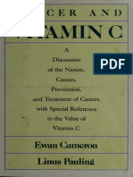 Cancer and Vitamin C - Cameron, Ewan and Linus Pauling pdf ebook