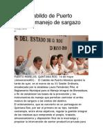 14-May-2019 Avala Cabildo de Puerto Morelos Manejo de Sargazo