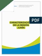 Caracterización de La Región Junín 2018 Sineace
