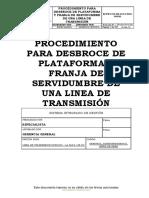 Hseq-pr-31 Procedimiento de Desbroce 138 Kv Editado Rev