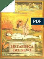 Julius Evola - La metafísica del sexo (1997).pdf