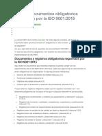 Lista de documentos obligatorios requeridos por la ISO 9001.docx