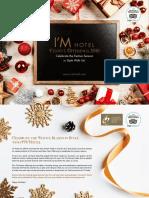 IM Hotel Christmas Catalogue 2018