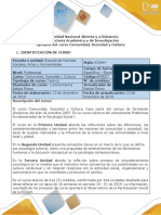 Syllabus Del Curso Comunidad, Sociedad y Cultura. 403007 (2)
