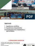 Expediciones  científicas  al Apolobamba 2019.pptx