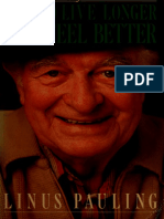 Free ebook pdf - How to Live Longer and Feel Better - Pauling, Linus, 1901-1994