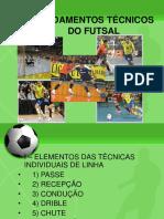 Fundamentos técnicos do Futsal
